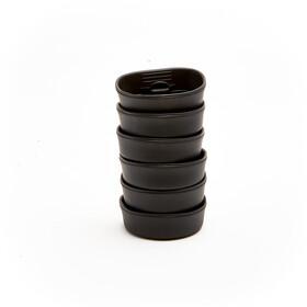 Wildo Fold-A-Cup Set Unicolor 6x Black